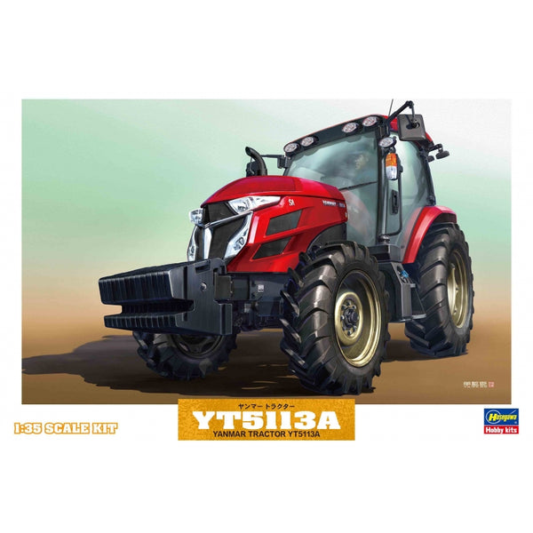 Hasegawa 1:35 66005 YANMAR TRACTOR YT5113A Model Construction Kit