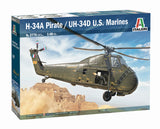 Italeri 1:48 2776 H-34A Pirate / UH-34D US Marines Model Aircraft Kit