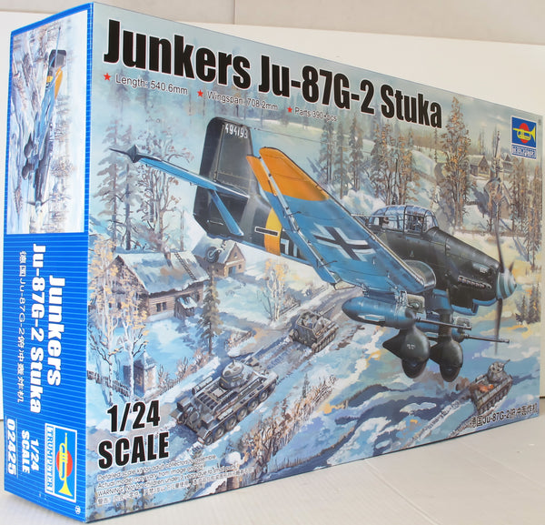 Trumpeter 1:24 02425 Junkers Ju 87G-2 Stuka Model Aircraft Kit