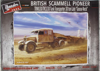 Thunder 1:35 35207 Scammell Pioneer TRMU30/TRMCU30 Tank 30 ton Military Model Kit