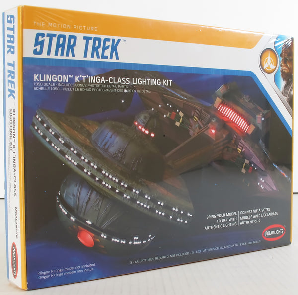 Polar Lights 1:350 MKA031 Star Trek Klingon K't'inga Lighting Kit Model Kit