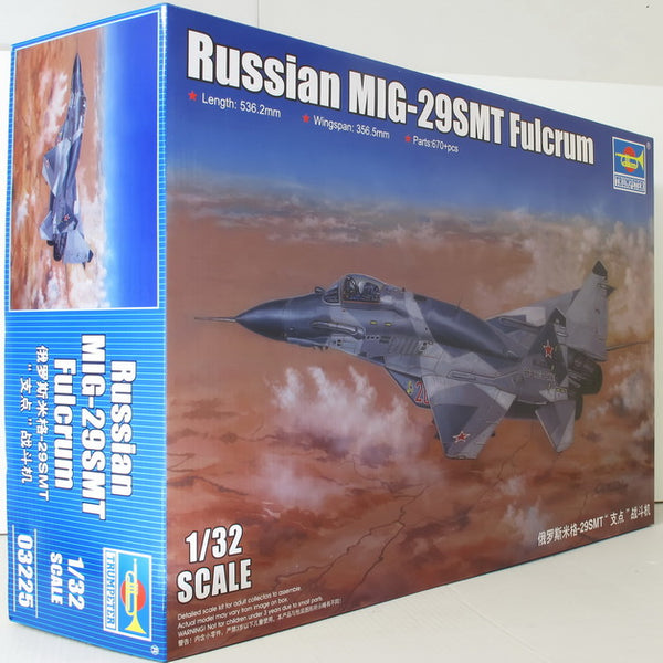 Trumpeter 1:32 03225 Russian MIG-29SMT Fulcrum Model Aircraft Kit