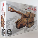 AFV Club 1:35 35248 M109A6 Paladin Howitzer Military Model Kit