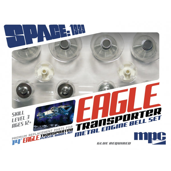 MPC 1:72 MKA038 Metal Engine Bell Set For MPC913 1:72 Space:1999 Eagle Model Kit