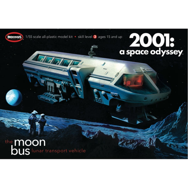 Moebius 1:55 MMK2001 Moon Bus 2001 Space Odyssey Model Kit