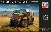 Mirror Models 1:35 35401 British Morris C8 Quad Mk III Late Model Military Kit