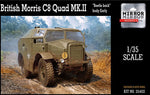 Mirror Models 1:35 35402 British Morris C8 Quad Mk III Early Model Military Kit