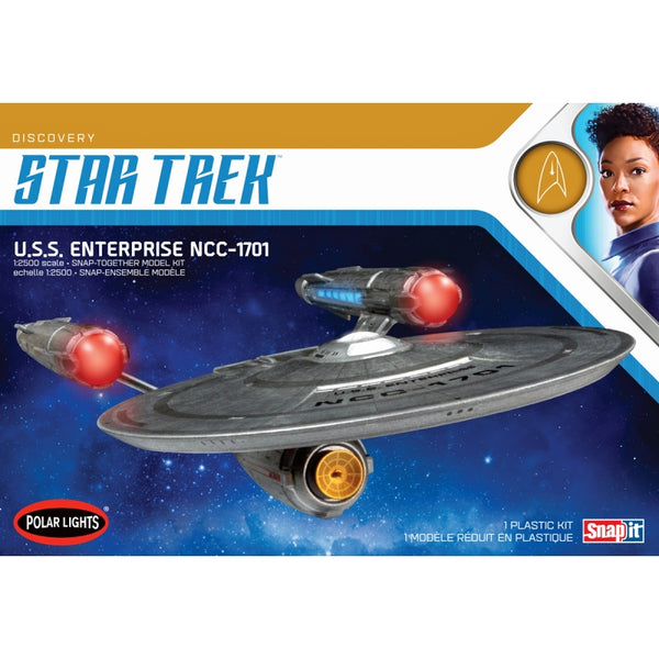 Polar Lights 1:2500 POL971 Star Trek Discovery: USS Enterprise Snap Model Kit