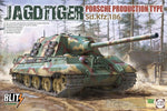 Takom 1:35 K08003 SdKfz 186 Jagdtiger Porsche Production Type Blitz Model Military Kit