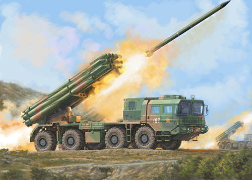 Trumpeter 1:35 01069 PHL-03 Multiple Launch Rocket System Military Model Kit