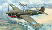Trumpeter 1:32 02269 P-40E Warhawk Model Aircraft Kit