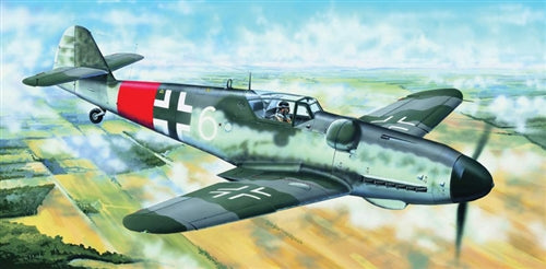 Trumpeter 1:24 02408 Me Bf 109G-6 (Late) Model Aircraft Kit
