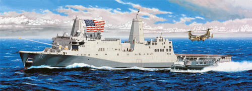 Trumpeter 1:350 05616 USS New York LPD-21 Model Ship Kit