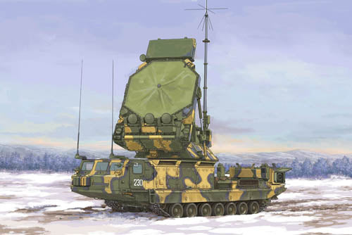 Trumpeter 1:35 09522 09522 Russian S-300V 9S32 Radar Model Military Kit