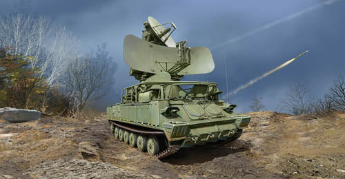 Trumpeter 1:35 09571 Russian 1S91 SURN KUB Radar Model Military Kit