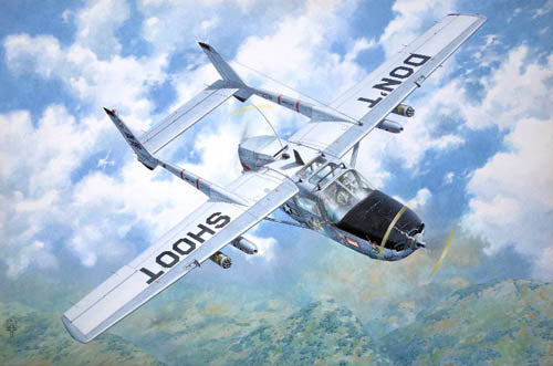 Roden 1:32 620 O-2A Skymaster Model Aircraft Kit