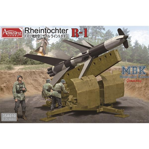 Amusing Hobby 1:35 35a010 FlaRak Rheintochter R1 Model Military Kit