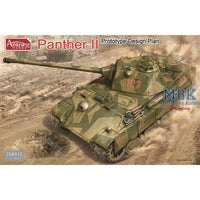 Amusing Hobby 1:35 35a012 Panther II Prototype Design Model Military Kit