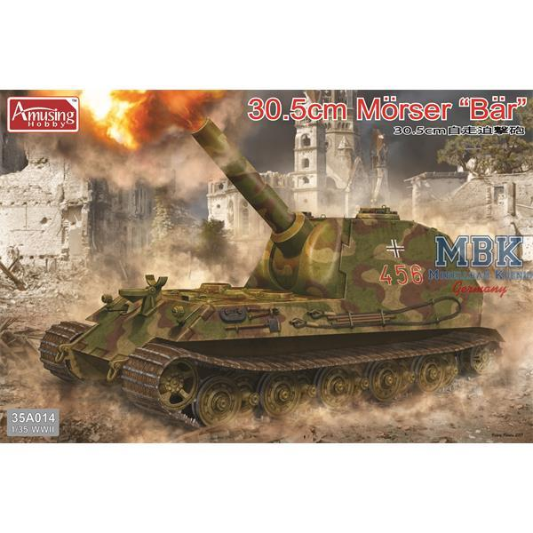 "Amusing Hobby 1:35 35a014 30,5cm Mörser ""Bär"" Model Military Kit"