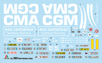 Italeri 1:24 3951 40 'CONTAINER TRAILER Model Truck Kit