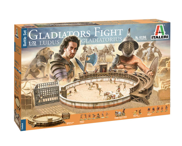 Italeri 1:72 6196 GLADIATORS FIGHT -  Battle Set kit
