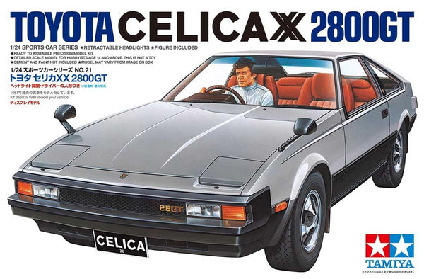 Tamiya 1:24 24021 TOYOTA CELICA XX 2800GT Model Car kit
