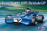Ebbro 1:20 E008 Tyrell 002 British GP 1971 F1 Model Car Kit