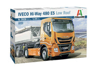 Italeri 1:24 3928 Iveco HI-Way 480 E5 Low Roof Model Truck Kit