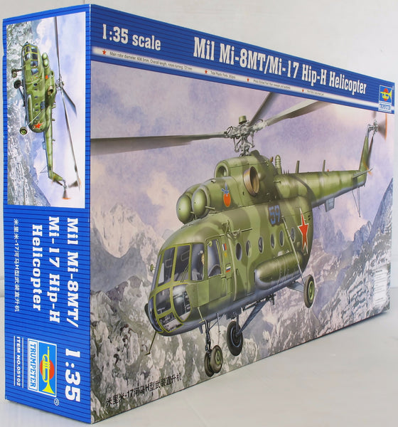 Trumpeter 1:35 - 05102 Mil Mi-8/17 Hip Helicopter Model Aircraft Kit