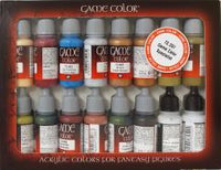 Vallejo 72297 Game Colour - Specialist Set 16 Colour Acrilic Paint Set