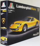 Italeri 1:24 3686 Lamborghini Miura Model Car kit