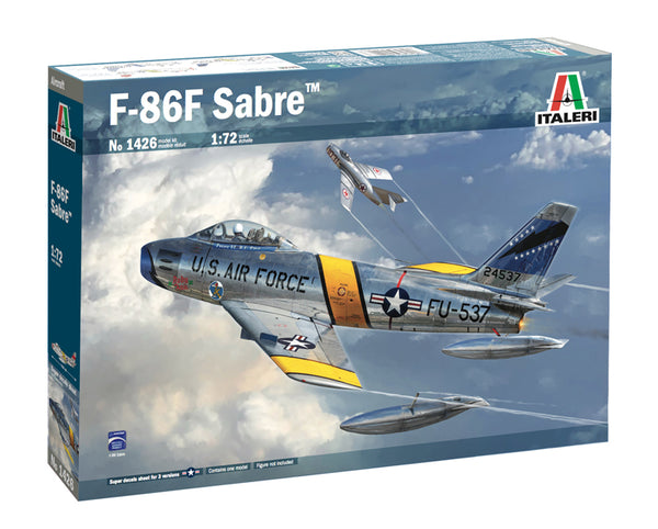 Italeri 1:72 1426 F-86F Saber Model Aircraft Kit