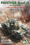 Takom 1:35 02121 Panther Ausf G Late w/ IR & Air Defence Armour Model Military Kit