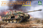 Takom 1:35 02125 Jagdpanther G1 Early SdKfz 173 w/ Zimmerit & full interior Model Military Kit