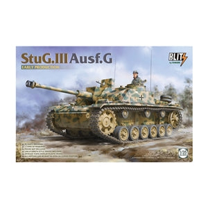 Takom 1:35 08004 StuG III Ausf G Early Production Blitz Model Military Kit