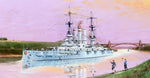 Trumpeter 1:350 05355 Schleswig-Holstein Battleship 1908 Model Ship Kit