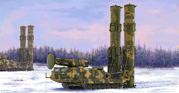 Trumpeter 1:35 09518 Russian S-300V 9A82 SAM Model Military Kit