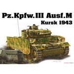Dragon 1:35 6521 Pz.Kpfw.III Ausf.M Kursk 1943 Model Military Kit