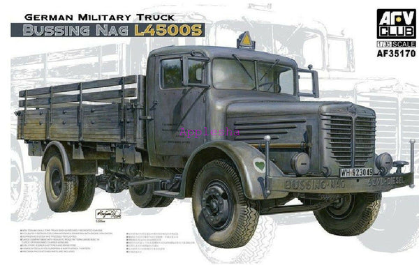 AFV Club 1:35 35170 Bussing NAG L4500S Truck Model Military Kit