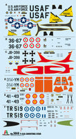 Italeri 1:72 1444 T-33A Shooting Star Model Aircraft Kit