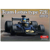 Ebbro 1:20 E003 Team Lotus Type 72E Black & Gold 1973 F1 Model Car Kit