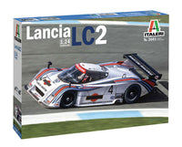 Italeri 1:24 3641 Lancia LC2 Martini Model Car kit