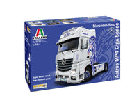 Italeri 1:24 3935 Mercedes-Benz Actros MP4 Gigaspace Model Truck Kit