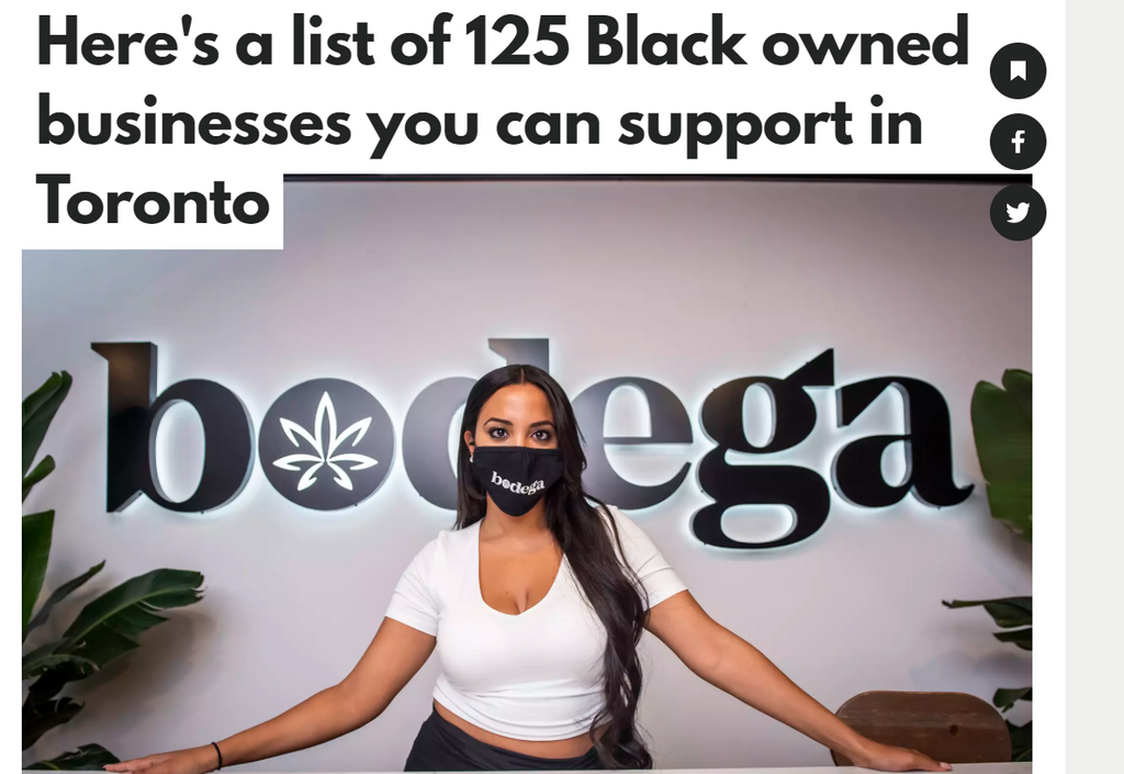 BlogTO List of 125 Black Owned Businesses In Toronto 2021