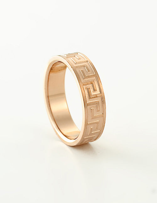 Rose Gold Grecian Ring