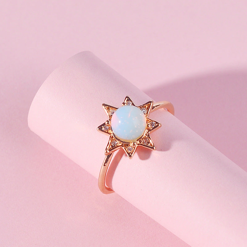 gold and Opal ring