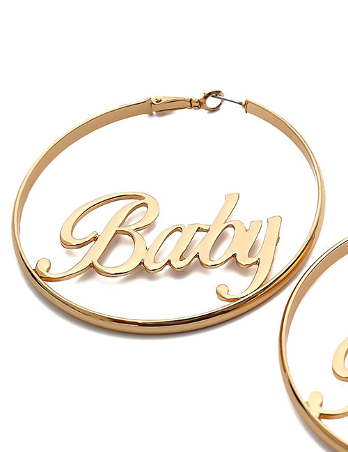 baby baby baby earrings