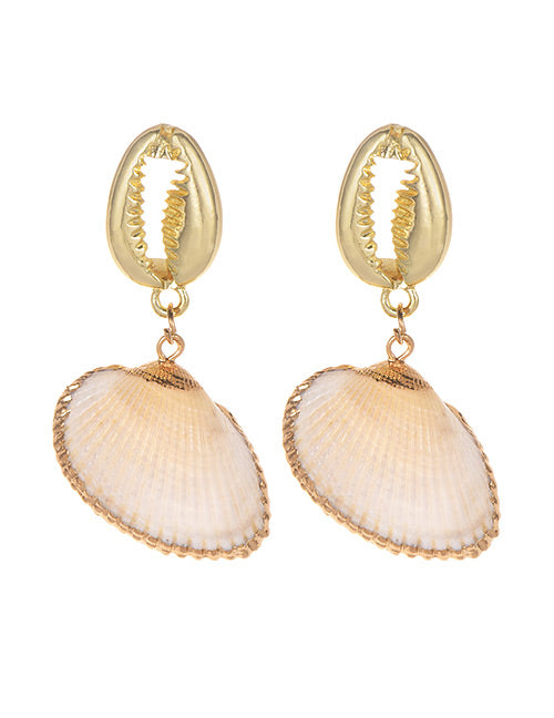 Mother Shell Earrings