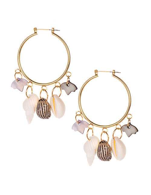 She Sells Sea Shells Hoops