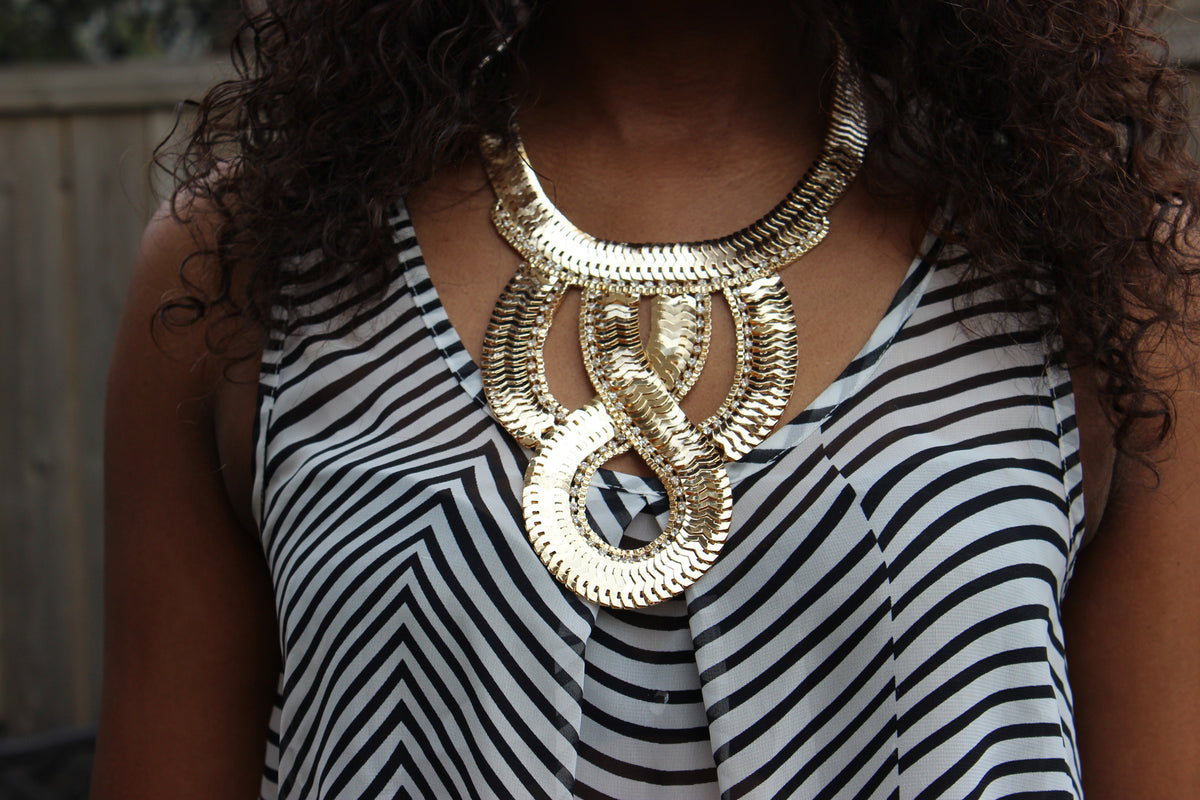 Gold Diva Necklace